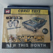 Original Corgi Toys Promotional Poster Man From Uncle Near Mint Very Rare