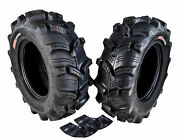 Kenda Executioner 25x8-12 6 Ply Tire 2 Pack W/ 25x8-12 Tr-6 Inner Tube 2 Pack
