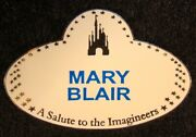 A Salute To The Imagineers Name Tag Pin Mary Blair Artist Proof Ed 25 - Rare