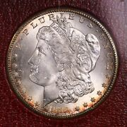 1889-s Morgan 1 From Redfield Silver Dollar Collection Hoard