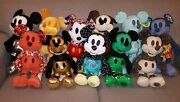 Disney Mickey Mouse Memories Plush Lot Of 12 January-dec. 2018 Brand New W/tags