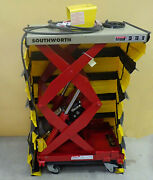 Southworth Ls05-30w Compact Lift Table Load Cap. 500lbs Raised Height 36 115v