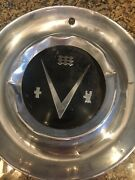 Vintage Set Of 2 1953 Buick 15andrdquo Hubcaps V8 Wheel Cover