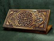 Backgammon - Board Set Game - Ornament Wood Nardy Chess Carved Handmade Gift