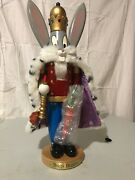 Rare Steinbach S962 Bugs Bunny Nutcracker 18andrdquo Tall - Looney Toons Collection - S