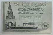 1915 Postcard Panama Pacific Expo Tower Of Jewels Pacific Coast Steamship Co
