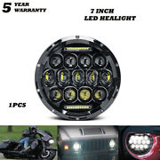 7and039and039inch Led Headlight Drl Dot For Yamaha V-star Xvs 650 950 1100 Classic Stryker