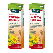 2x Kneipp Intensive Heat Balm With Arnica 100ml - Health Care From Germany