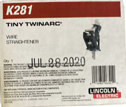 Lincoln Electric K281 Tiny Twinarc Wire Straightener. Free Shipping
