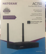 Netgear Ac750 Dual Band Wifi Router - Speeds Up To 300+450 Mbps Model R6020