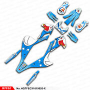 Personalised Graphics Sticker Kit Decal For Te Fe Tx Fx Fs 2016 2017 2018 2019