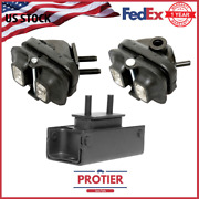 Fits Ford F150 4wd 2005-2008 4.6/ 5.4l Engine Motor And Auto Trans Mount Set 3 Pcs