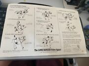 1973 Gabriel Lone Ranger Assembly Instructions For Silver Horse