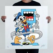 Lucky Duck By Greg Mike Signed And Numbered Edition Of 90 24 X 24 Sold Out