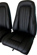 Valiant Vk Charger Leather Seat Skins Trim Kit Front And Rear- Custom / Hot Rod