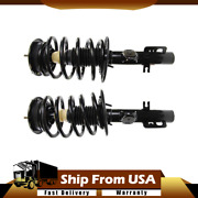Front Complete Loaded Quick-strut Spring Assembly Pair Monroe 172530 172531 _wn