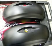 Indian Motorcycle Chieftain Saddlebag Lids Flat Black Mfr5450214 And 5450213-463