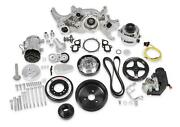 Premium Polished Mid-mount Complete Accessory System For Lt Engines
