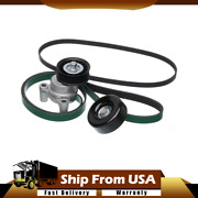 Gates Serpentine Accessory Belt Drive Component Kit For Chevy Gmc Suv Pickup Wn