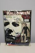 1999 Halloween Michael Myers Costume - Autographed By Dick Warlock