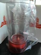 2 Budweiser Red Light Goal-synced Glasses- Sync To Any Nhl Team