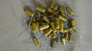 One Lot Of 47 Vintage Nos Astron .006 600v Capacitor