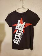 Wwe The Edge Farewell Tour Tshirt Done It All Won It All Womens Size L