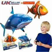 Remote Control Flying Air Shark Toy Rc Radio Inflatable Fish Balloons