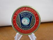 Boston Police Department / St Michael In God We Trust Challenge Coin 507g