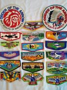Boy Scout Order Of The Arrow Flaps And Jacket Patches. Vintage, Mint Condition.