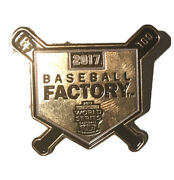 Rare 2017 Limited Edition Gold Baseball Factory Little League World Series Pin