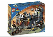 Lego Duplo Knights Castle Set 4777 And Black Dragon And Knight 4784 Piece Missing
