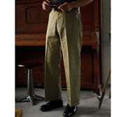 American Vintage Japanese Fabric High Waist Loose Straight Casual Trousers Man