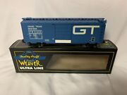 ✅weaver Grand Trunk Western Ps-1 40' Box Car W/ Lionel Type Couplers O Scale