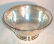 Authentic Reproduction Poole Silver Epc Footed Paul Revere Bowl 502-8