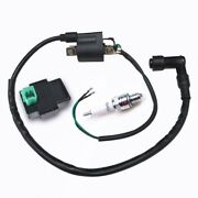 Racing Ignition Coil+spark Plug+cdi Box Fits Gy6 50cc-150cc Scooter 4-stroke Us