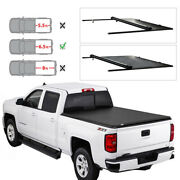 6.5and039 Soft Roll-up Tonneau Cover For 1999-16 Ford F250 F350 Super Duty Truck Bed