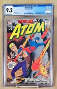 Showcase 35 Cgc 9.2 Oww Pages 2nd Silver Age Atom