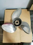 Suzuki 3x16x20l Left-hand Counter Rotation Stainless Outboard Propeller