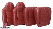 2008 Ford F250 F350 King Ranch - Driver And Passenger Complete Leather Seat Covers