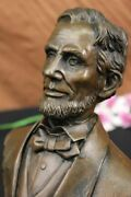 Collector Edition Abraham Lincoln 16 President Of The United States Bronze Bust
