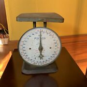 Vintage Early 1900s Antique American Family Kitchen Scale