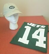 New York Jets Nfl Nike Classic Green Sam Donald 14 Xl T-shirt And Cap