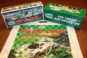 2009 Hess Race Car + 2016 Hess Truck And Dragster __ 100 Mint-in-box From Case