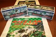 2009 Hess Race Car + 2012 Hess Helicopter Truck __ 100 Mint-in-box From Case