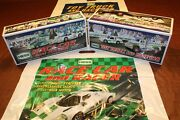 2009 Hess Race Car + 2011 Hess Truck And Racer __ 100 Mint-in-box From Case