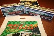 2009 Hess Race Car + 2010 Hess Truck And Jet  ___ 100 Mint-in-box From Case