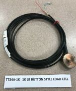 1k Lb Button Style Load Cell Toledo Transducers