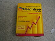 New In Box Peachtree By Sage Pro Accounting 2009 Software