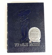 1977 Ole Miss Annual Yearbook Volume 83 Mississippi Colonel Reb Mascot